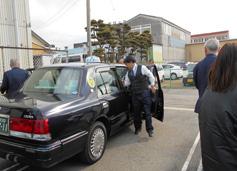 タクシー強盗防犯訓練