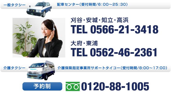 タクシーを呼ぶ・予約する